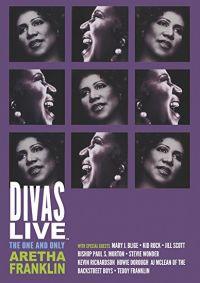 Cover Aretha Franklin - Divas Live [DVD]